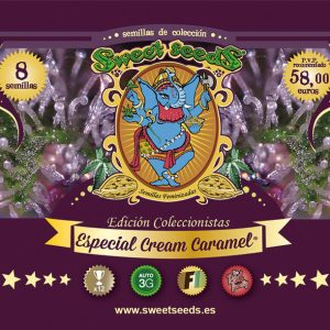 Sweet Seeds Especial Cream Caramel Collector's Pack
